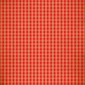 Red Grunge Plaid Design — Stock Photo