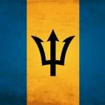 Grunge Flag of Barbados — Stock Vector