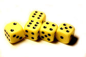 Dice game — Foto de Stock