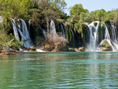 Kravica waterfalls — Stock Photo