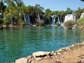 Beautiful waterfalls in Bosnia — Stock Photo