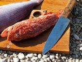 Gemide redfish — Stok fotoğraf
