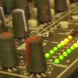 Audio mixer display — Stock Video