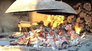 Fireplace — Stock Video