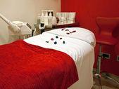 Decorated massage room — Stock Photo