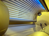 New solarium ready for use — Stock Photo