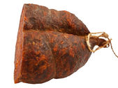 Croatian peppery ham — Stock Photo