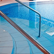 Indoor swimming pool interior — Stock Photo
