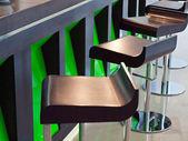 Bar chairs — Stock Photo