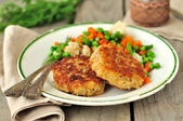 Pork Patties — Stock Photo