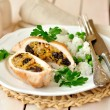 Stuffed Chicken Breasts — Stock Photo