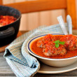 Meat Balls in Tomato Sauce — Stock Photo #21629327