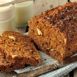 Whole-Grain Loaf Cake — Stock Photo