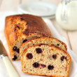 Berry and Oat Cake Loaf - Stok fotoğraf