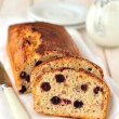Berry and Oat Cake Loaf - 图库照片