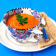 Carrot Cream Soup — Stock Photo