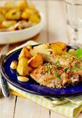 Chicken and Potato Roast — Stock Photo