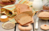 Sliced Rye Bread Loaf — Stock Photo