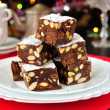 Panforte di Siena, Italian Christmas treat — Стоковая фотография