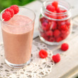 Chocolate Raspberry Smoothie — Stock Photo