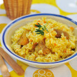 Pork pilaf — Stock Photo #34802989