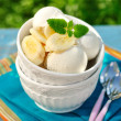 banana ice cream — Stock Photo