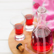 Raspberry Liqueur — Stock Photo