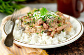 Pork stroganoff with sour cream — Foto Stock