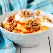 Greek Yoghurt in Bowl — Stock Photo #38095621