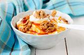 Greek Yoghurt in a Bowl — Stock Photo