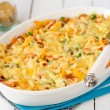 Macaroni, Pumpkin, Chicken and Cheese Pasta Bake — Stock Photo #38911773