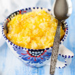 Millet and Rice Kasha (Porridge) with Pumpkin — Stock Photo