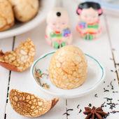 Chinese Tea Eggs — Stock Photo