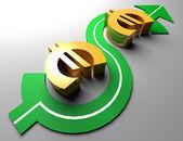 Financial maneuvers — Stock Photo