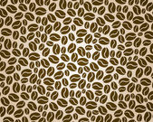 Coffee background — Vector de stock