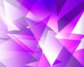 Violet crystal background — Stock Vector