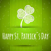 Patricks day card — Vecteur