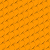 Golden fish scale background — Vector de stock