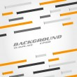 Orange and grey line abstract background — Stock Vector