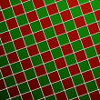 Red and green 3d square background — Stock Vector