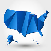 BLUE USA — Vector de stock