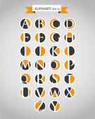 алфавит в кольца — Cтоковый вектор