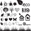 Stock Vector: Ecology icon set.