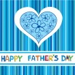 Royalty-Free Stock Vector Image: A Happy Father&#039;s Day card. Vector illustration