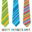Happy father day - Stockvectorbeeld