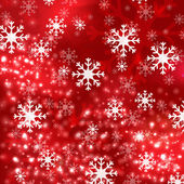 Red Christmas background in elegant style — Stock Vector