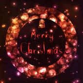 Vánoční dekorace nápady — Stock vektor