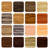 Zebra wood texture — Stock Vector