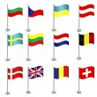 International flags — Stock Vector