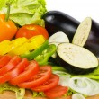 Fresh ripe vegetables mixed — Stock Photo